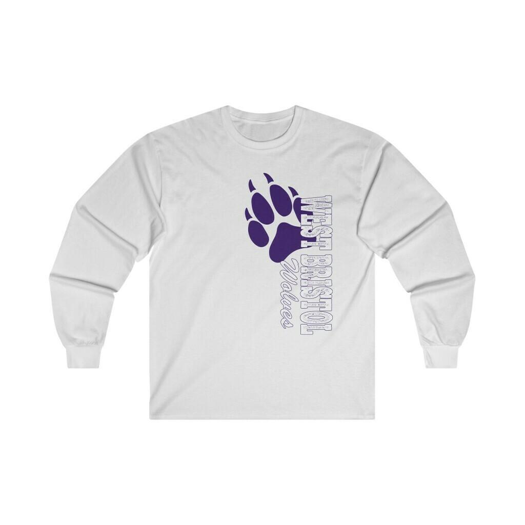 *WB Wolves -Unisex - Long Sleeve Tee- Gildan 2400