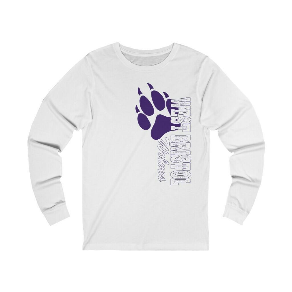 *WB Wolves -Unisex - Long Sleeve Tee - Bella+Canvas 3501