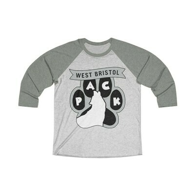 *WB Pack (G) -Unisex - 3/4 Sleeve Raglan Shirt - Next Level 6051
