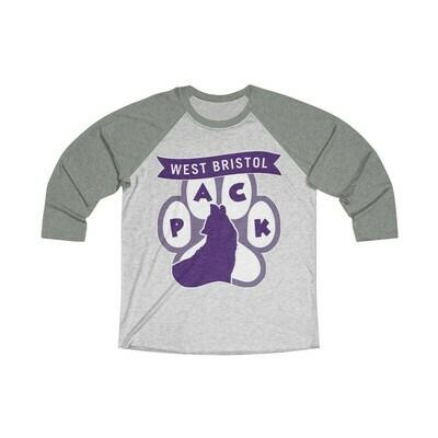 *WB Pack (P) -Unisex - 3/4 Sleeve Raglan Shirt - Next Level 6051
