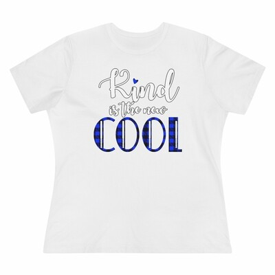 *Kind Is The New COOL -Women's - Relaxed T-Shirt - Bella+Canvas 6400