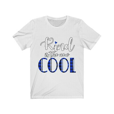 *Kind Is The New COOL -Unisex - Premium Jersey T-Shirt - Bella+Canvas 3001