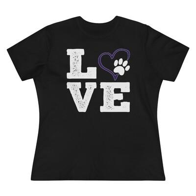 *LOVE Paws purple - 6400