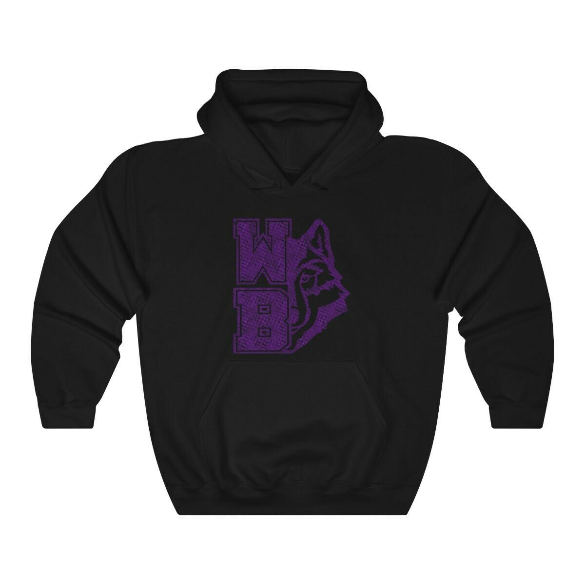 *WB wolf - purple - 18500