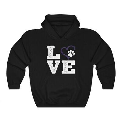 *LOVE Paws purple - 18500