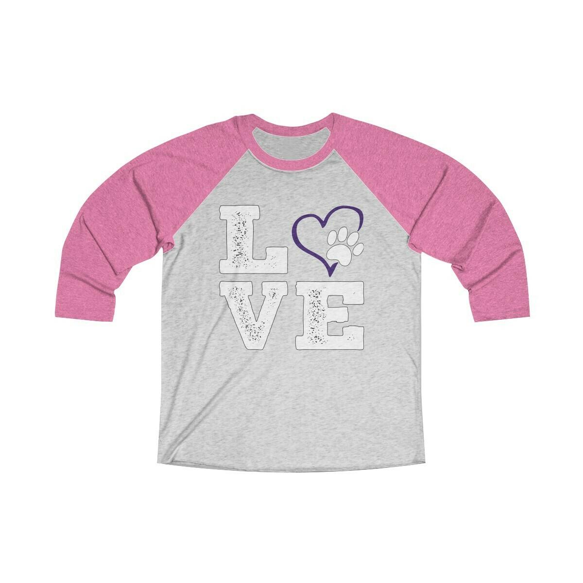 *LOVE PAWS purple - 6051
