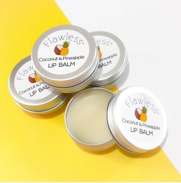Veganski balzam za ustnice - kokos in ananas