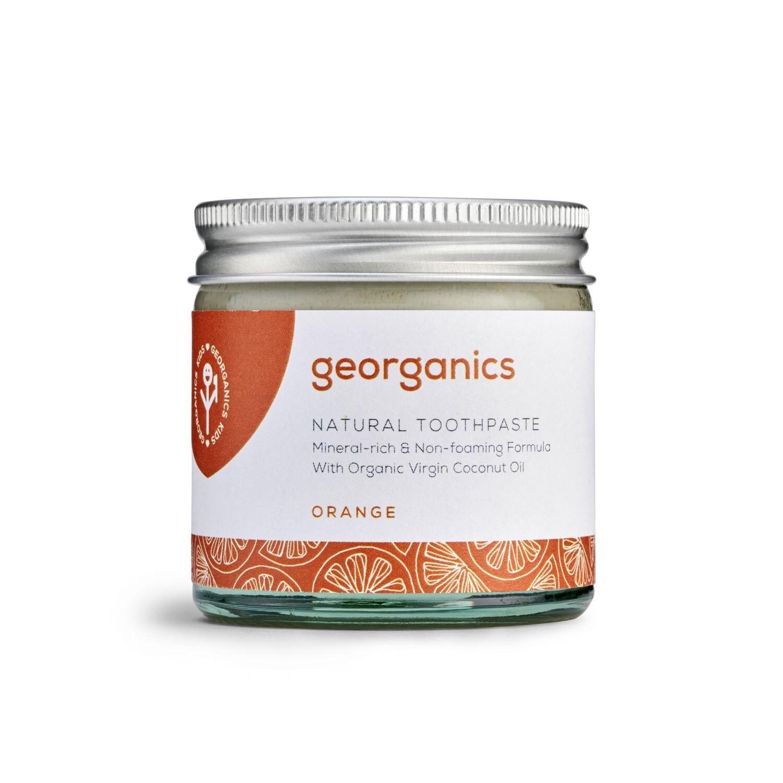 Georganics zobna pasta - pomaranča