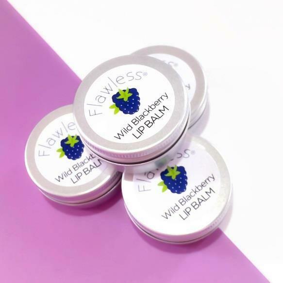 Veganski balzam za ustnice - divja robida (15 ml)