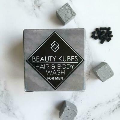 Beauty Kubes šampon in milo za telo v enem - za moške