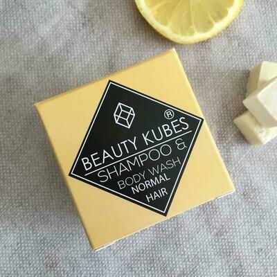 Beauty Kubes šampon za lase in milo za telo v enem - unisex