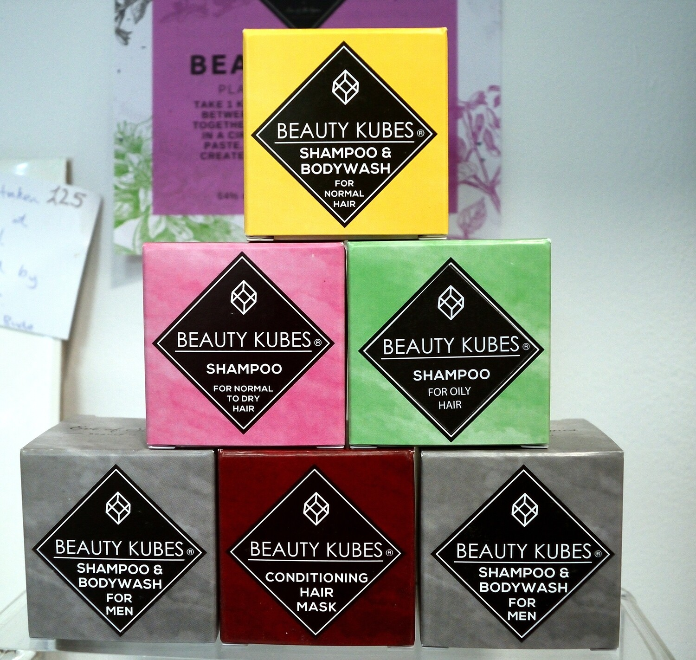 Komplet Beauty Kubes šampon + balzam