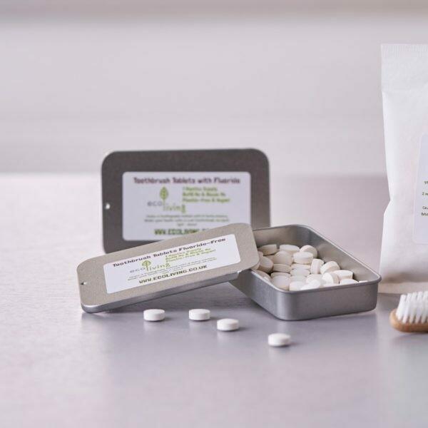 Zobna pasta v tabletkah s fluoridom