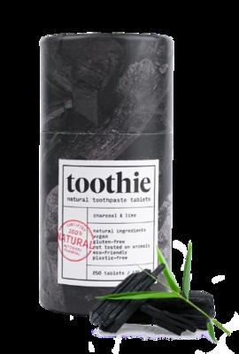 Zobna pasta v tabletkah Toothie - OGLJE