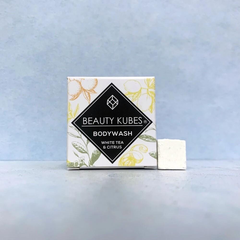 Beauty Kubes milo v kockah - beli čaj in citrusi