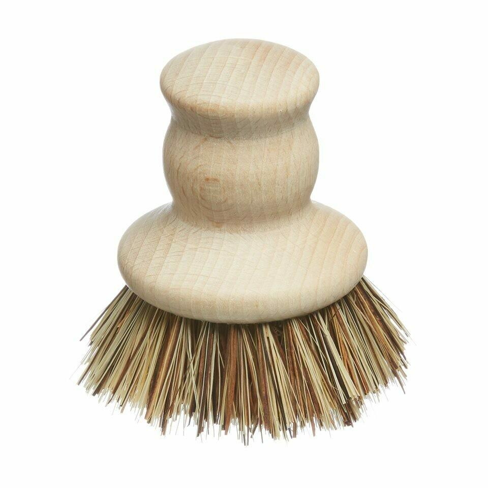Lesena krtačka za pomivanje posode