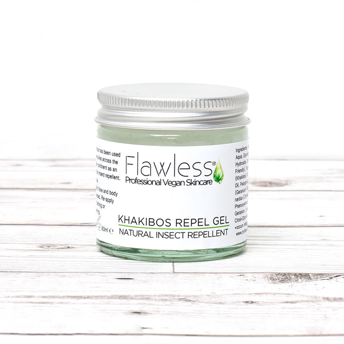 Repelent v gelu Flawless - 120 ml