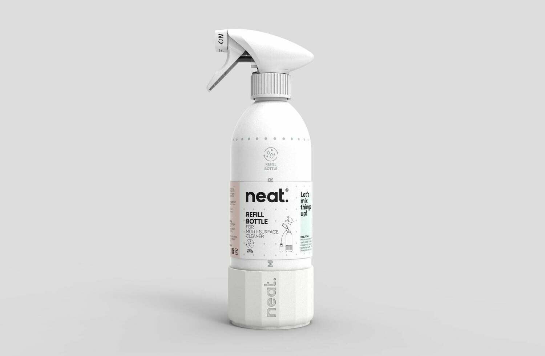 Aluminijasta steklenica NEAT. - za večkratno uporabo