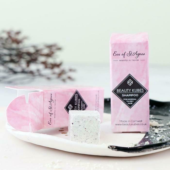 Beauty Kubes šampon v kockah - majhno pakiranje