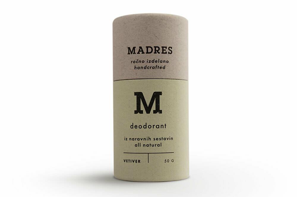 Madres deodorant Vetiver