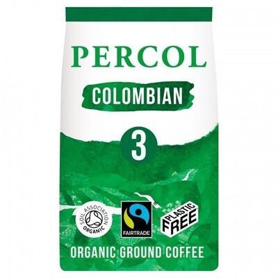 Percol fair trade kava SMOOTH COLOMBIAN