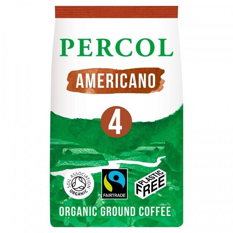 Percol fair trade kava RICH AMERICANO