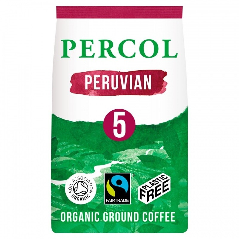 Percol fair trade kava BOLD PERUVIAN