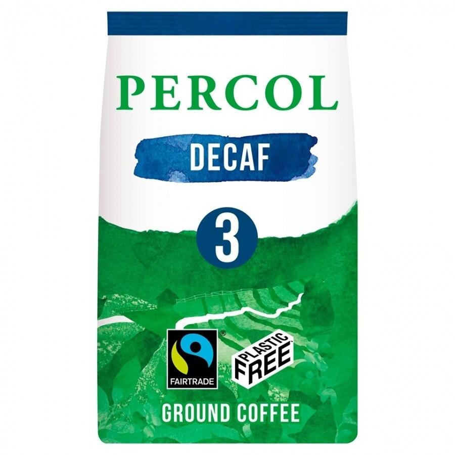 Percol fair trade kava DELICIOUS DECAF