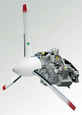 Continental Diesel Engine - CD135