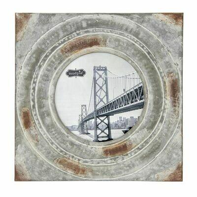 Large Tin Circle Frame