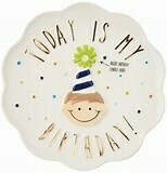 Birthday Boy Candy Plate
