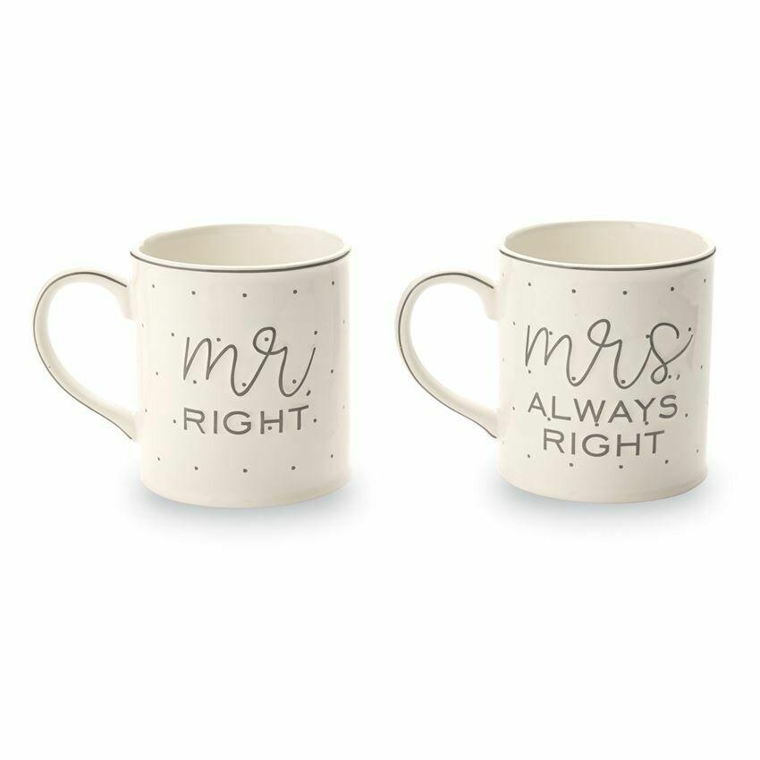 Mr. and Mrs. Mug Set