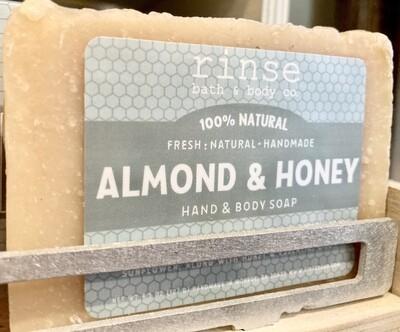 Almond & Honey Hand & Body Soap -rinse