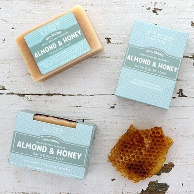 Almond & Honey Hand & Body Soap -rinse