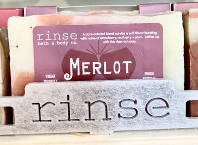 Merlot Hand & Body Soap-rinse