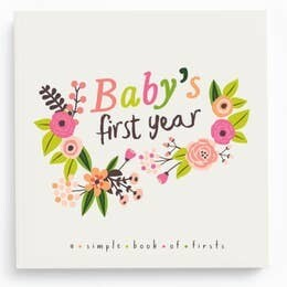 Flower baby's first year