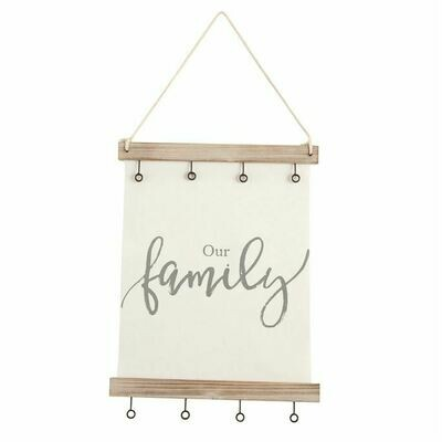 Our Family  Canvas Clip Frame