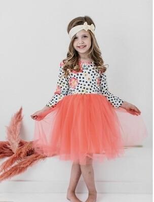 Pop of Color Tutu Dress