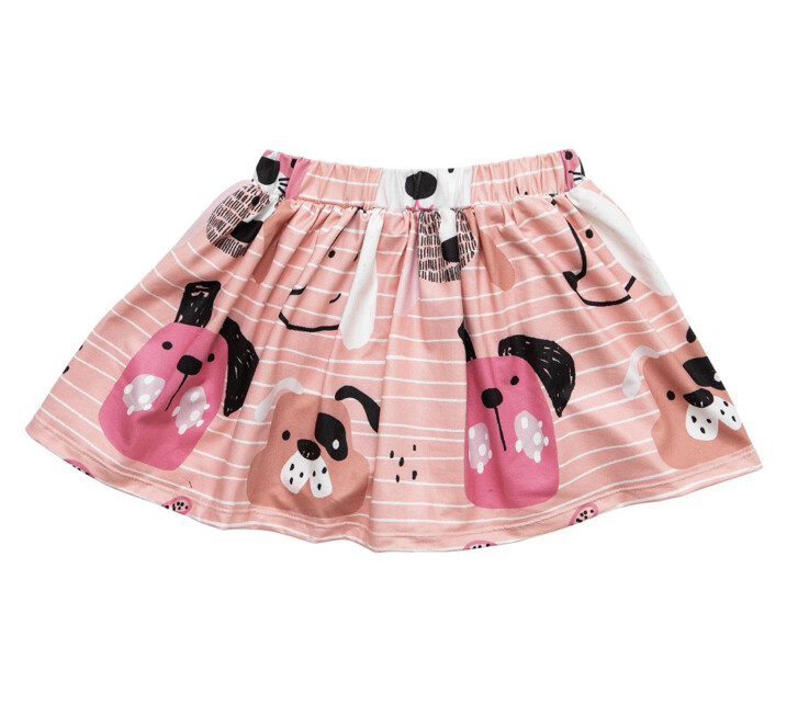 Dog days Twirl Skirt