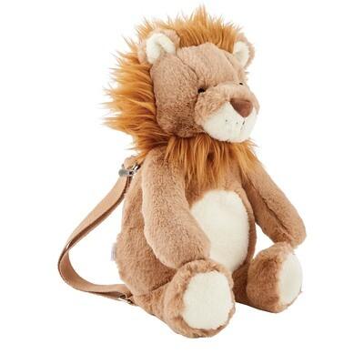 Lion Plush Backpack