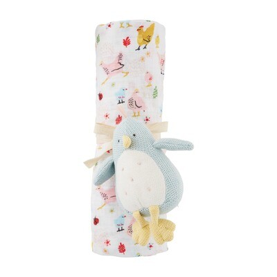 Chick Rattle and Swaddle