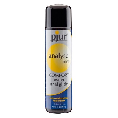 PJUR - ANALYSE ME COMFORT WATER ANAL GLIDE 100 ML