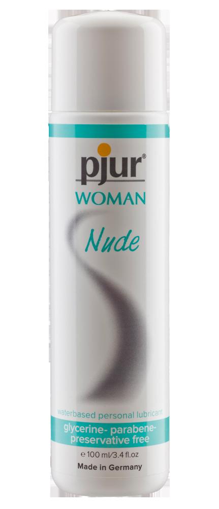 PJUR - WOMAN NUDE WATERBASED PERSONAL LUBRICANT 100 ML