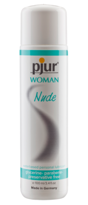PJUR - WOMAN NUDE WATERBASED PERSONAL LUBRICANT 100 ML