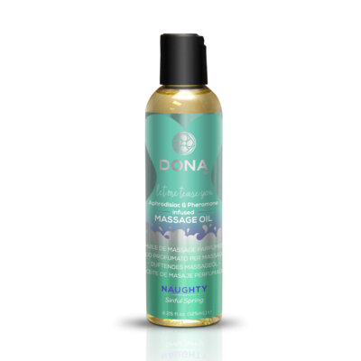 DONA - SCENTED MASSAGE OIL SINFUL SPRING 125 ML