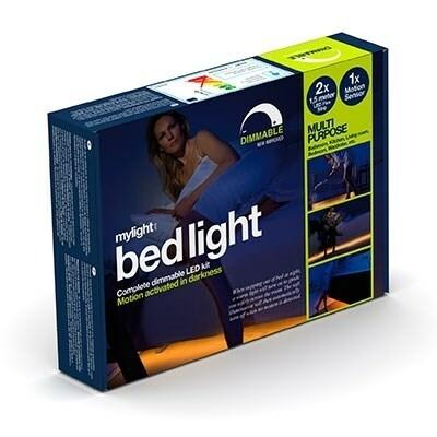 Bed light 2 x 1,5 m dimbar 1 st rörelsesensor