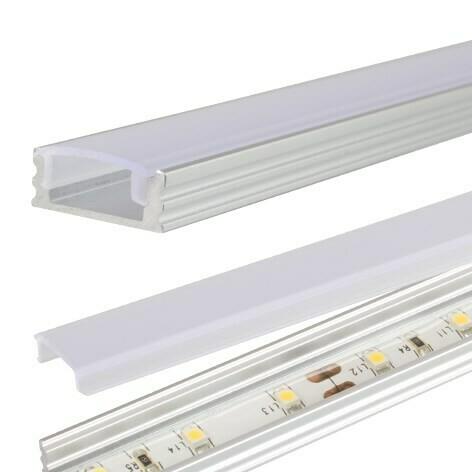 Aluprofil 1,53 m för Bed light och Closet light