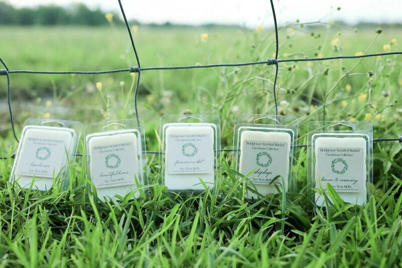 Farmhouse Collection -Pure Soy Wax Melts -Set of 5 - Shipping Included