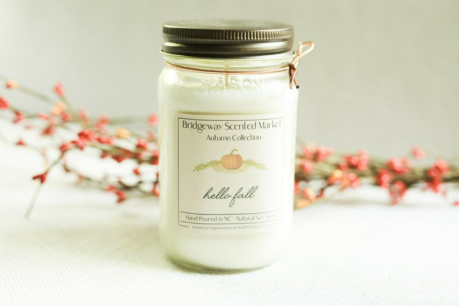 Soy Candle - Autumn Collection
