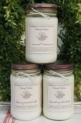 Bundle of 3 Bakery Candles - Shipping Included